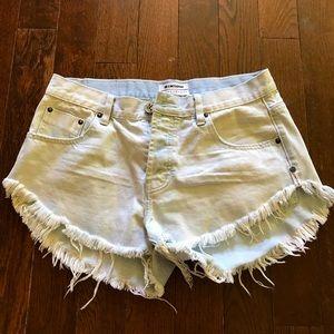 One teaspoon shorts 🌸